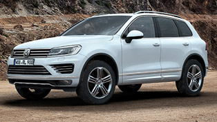 2014 Volkswagen Touareg Facelift - UK Price £43,000