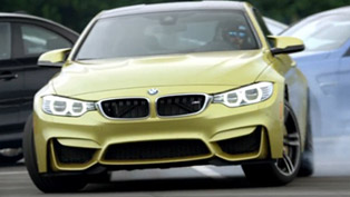 ///M Initiation - BMW M4 Coupe Drifts at a Special Course