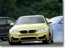 ///M Initiation – BMW M4 Coupe Drifts at a Special Course