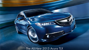 acura releases 2015 tlx performance luxury sedan