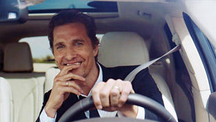 Matthew McConaughey and the Lincoln MKC [VIDEO]