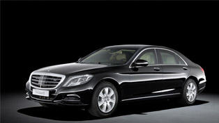 Mercedes-Benz debuts the all new S 600 Guard armored vehicle