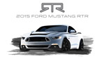 RTR Teases Two 2015 RTR Ford Mustangs