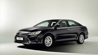 2015 Toyota Camry Facelift for Russia