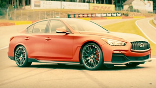 Infiniti Q50 Eau Rouge at Spa-Francorchamps