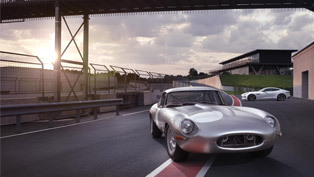 Jaguar unveils continuation E-Type vehicle