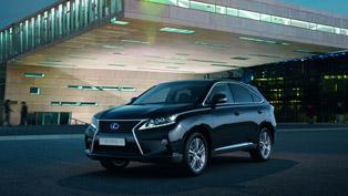 Lexus Introduces RX 450h Advance