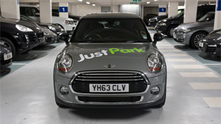 MINI teams with JustPark to make parking easier