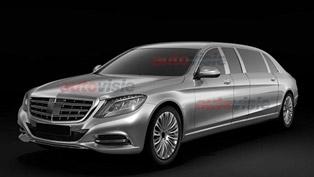 Mercedes-Benz S-Class Pullman [leak images]