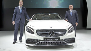 Mercedes-Benz S65 AMG Coupe at the 2014 Moscow Motor Show