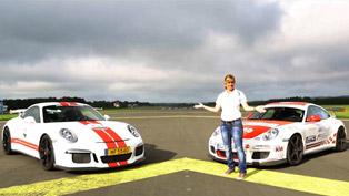 Porsche 997 GT3 RS vs 991 GT3 ft. Sabine Schmitz [video]