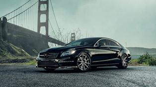 Vorsteiner Shows-Off With Obsidian Black Mercedes-Benz CLS63 AMG