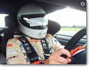 Mike Newman with Litchfield Nissan GT-R – Land Speed Record for Blind Driver