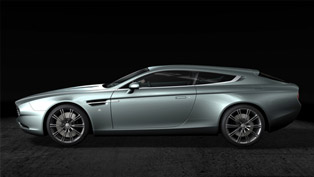 Zagato Shows Aston Martin Virage Shooting Brake at Concours D'Elegance