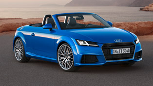 Sporty Audi TT Roadster and Audi TTS Roadster