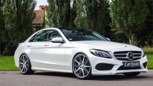 Carlsson Tunes the AMG Version of Mercedes-Benz C-Class