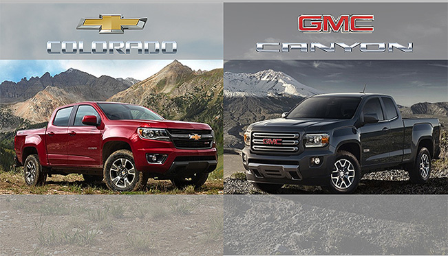 2015 Chevy Colorado and GMC Canyon to offer leading fuel economy