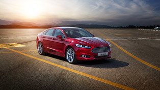 2015 Ford Mondeo With Innovative Pedestrian Detection Technology