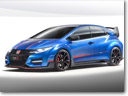 2015 Honda Civic Type R Concept Previews the Next-Gen Hatch