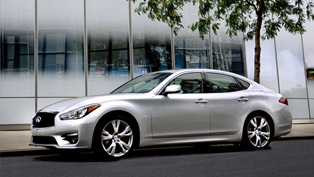 2015 Infiniti Q70 Line-up to Debut at Paris Auto Show