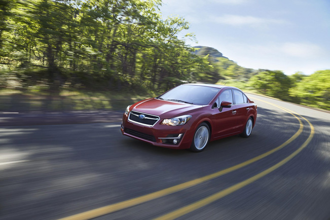 2015 Subaru Impreza gets new looks and technologies