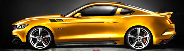2015 Saleen 302 Ford Mustang to Pump Out 640 Horsepower