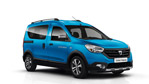 Dacia Presents Lodgy Stepway and Dokker Stepway models at the Paris Motor Show
