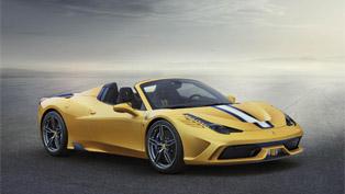 Ferrari debuts 458 Speciale A spider