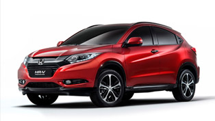 Honda HR-V is Small SUV Debuting at Paris Motor Show