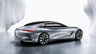Infiniti Q80 Inspiration is Feasting the Senses
