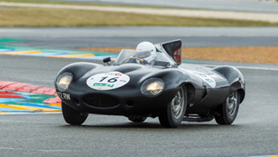 Jaguar D-Type Leads the Parade at 2014 Goodwood Revival