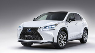 2015 Lexus NX 300h is Rich in New Technologies