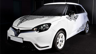 mg3 personalisation design concept unveiled at superbrands london