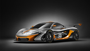 McLaren P1 GTR Design Concept with European Debut