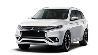 mitsubishi reveals outlander phev concept-s ahead of premiere in paris