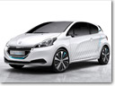 Peugeot 208 HYbrid Air 2L Demonstrator Achieves 141 mpg