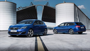 Peugeot to Unveil 308 GT Hatchback and 308 GT SW at Paris Motor Show