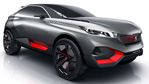 Peugeot Quartz Concept - Ultra-Athletic Crossover