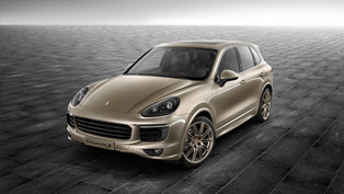 porsche exclusive releases cayenne s in palladium metallic
