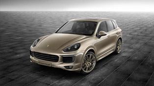 Porsche Exclusive Releases Cayenne S in Palladium Metallic