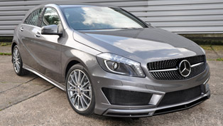 sporty additions to mercedes-benz a-class w176