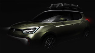 SsangYong XIV-Air and XIV-Adventure to Debut in Paris