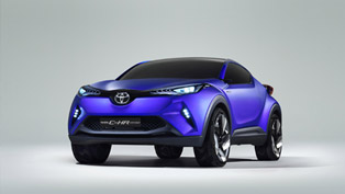 Toyota Shows C-HR Hybrid Crossover Ahead of Paris Premiere