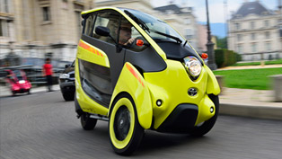 Toyota i-Road Brings Zero-Emissions Motoring to Europe