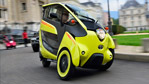 Toyota i-Road Brings Zero-Emissions Motoring to Europe