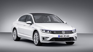 2015 Volkswagen Passat GTE is a Plug-in Hybrid Debuting in Paris