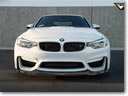 Vorsteiner's BMW M3 Shows-Off with new Carbon Fiber Aero Front Spoiler