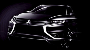 Mitsubishi Outlander PHEV Concept-S with Premiere in Paris
