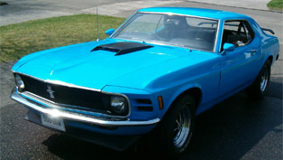 The 1970 Ford Mustang Boss 302 – raw power for all car enthusiasts