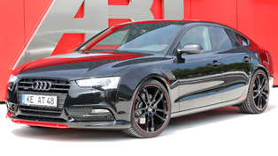an attractive audi a5 abt as5 dark now comes at a good prize